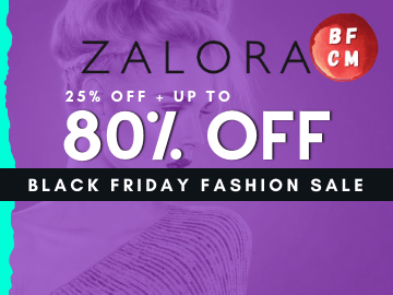 New to Zalora? Here's 25% off on your first purchase!