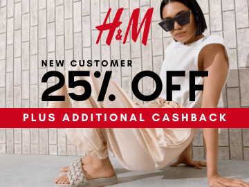 New Users: Shop with this H&M promo code to enjoy 25% off your first in-app purchase!